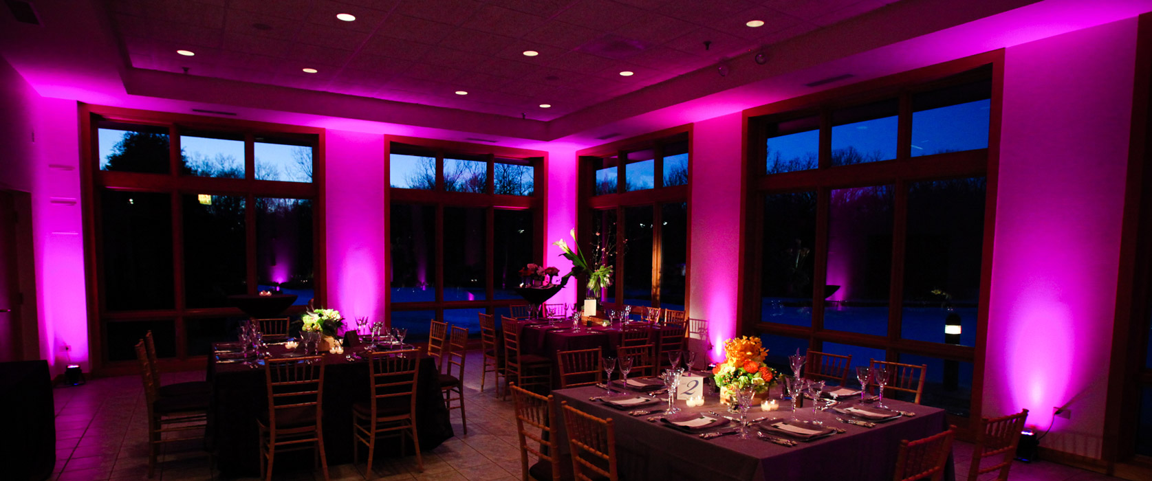 Celebrate With Music Event Lighting Options